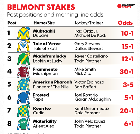 belmont stakes image